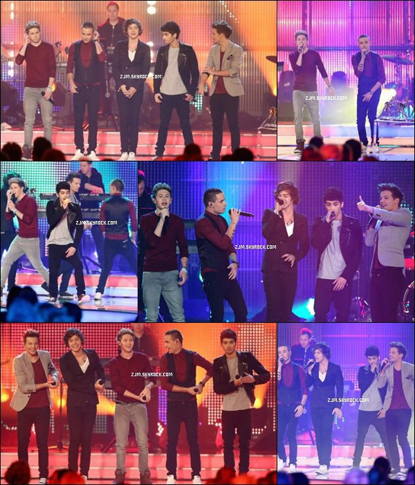 "Les One Direction étaient au ""Bambi Awards 2012"" pour y interpréter ""Live""While We're Young"""