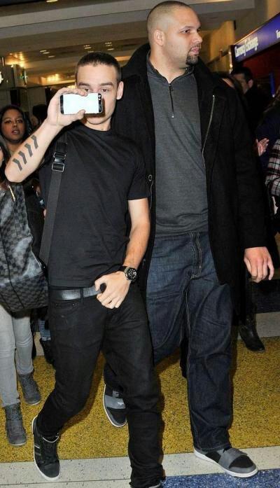 Toute les photos leur l'arrivé a l'aéroport de New York