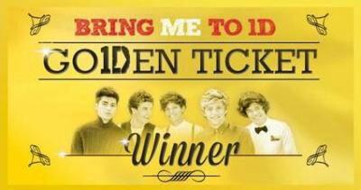 Les garçons passant la journée avec les gagnant du Go1Den Ticket