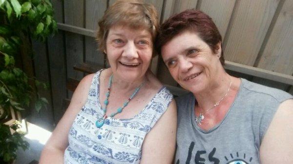Sabine et moi   Mai 2017