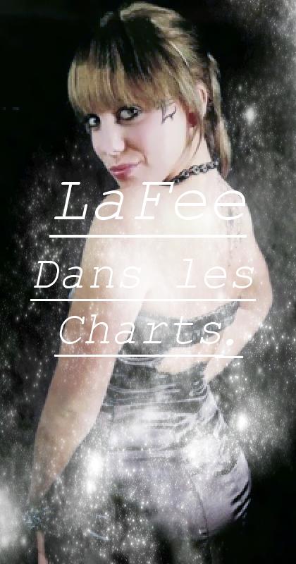 LaFee dans les charts.