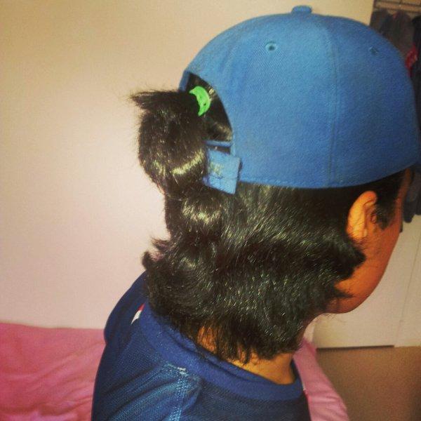 Cheveux longs bb