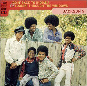 THE JACKSON 5  -  GOIN' BACK TO INDIANA  (1971)  +  LOOKIN' THROUGH THE WINDOWS  (1972)  (Rééd. 2001)