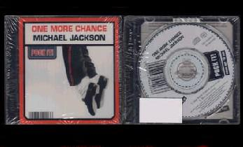 MICHAEL JACKSON  - ONE MORE CHANCE  (Mini CD 3 pouces / Pock It)  (2003)