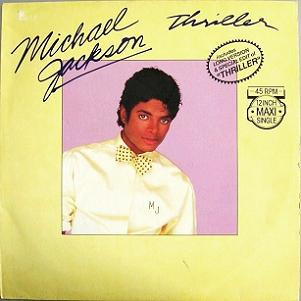 MICHAEL JACKSON - THRILLER (Maxi vinyle) (1983)