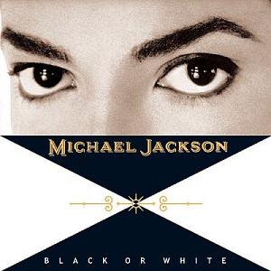 MICHAEL JACKSON - BLACK OR WHITE (Maxi vinyle) (1991)