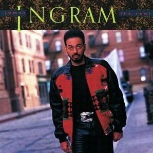 JAMES INGRAM - IT'S REAL (Vinyle 33 tours) (1989)