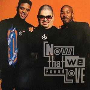 HEAVY D & THE BOYZ - NOW THAT WE FOUND LOVE (Maxi vinyle) (1991)