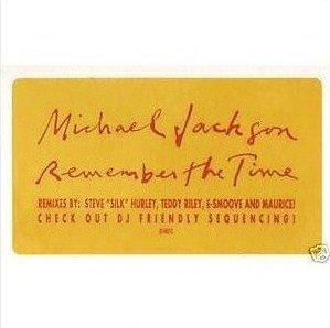MICHAEL JACKSON - REMEMBER THE TIME (Double Maxi vinyle promo) (1991)