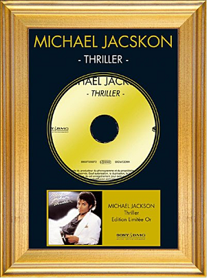 MICHAEL JACKSON - THRILLER (Edition limitée or) (2006)