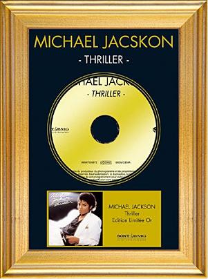 MICHAEL JACKSON - THRILLER (Edition limitée or) (2006)