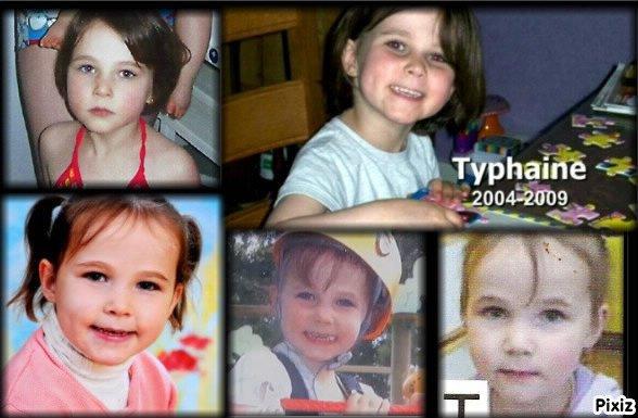 hommage à la petite Typhaine