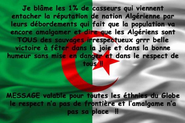 l' ALGERIE et le footnall