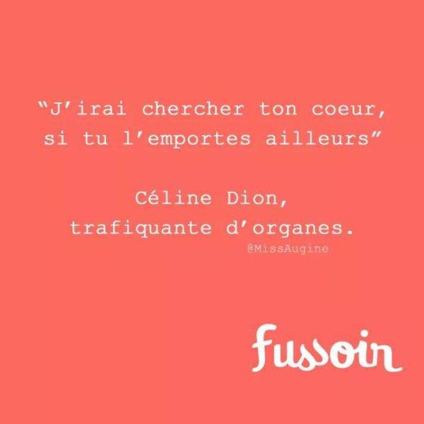 Céline Dion humour