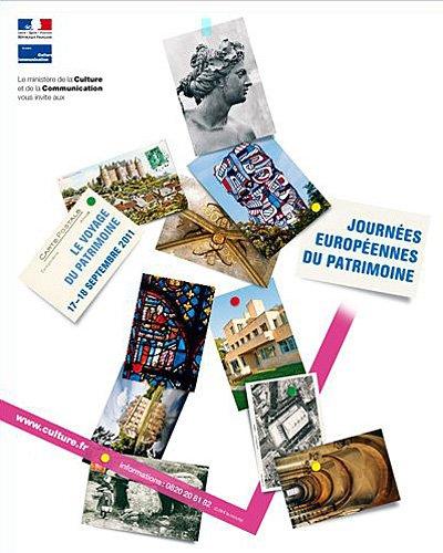 17 - 18 Septembre : JOURNEES EUROPEENNES DU PATRIMOINE !