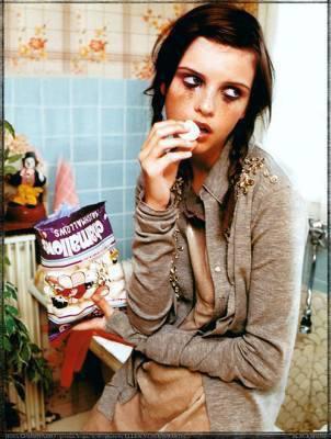 Retour inattendu d'une vieille amie: la crise de boulimie.