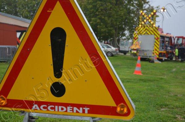 DIMANCHE 8 FEVRIER 2015 - DEUX MOTOS ACCIDENTEES SUR L'A4