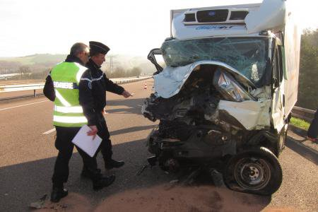 VENDREDI 10 AVRIL 2015 - ACCIDENT MORTEL SUR L'A4 A LHERY