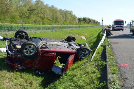 DIMANCHE 19 AVRIL 2015 - COLLISION MORTELLE SUR L'A4 A TILLOY ET BELLAY