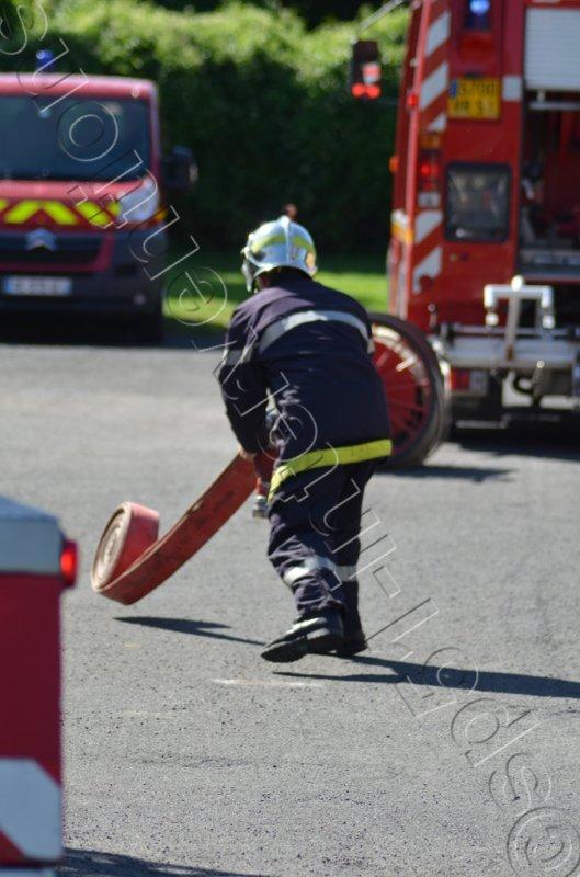 JEUDI 9 JUIN 2016 - FUITE DE GAZ RUE DES RECOLLETS A SEZANNE