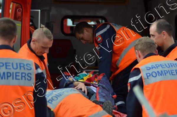 DIMANCHE 26 JUIN 2016 - DEUX ACCIDENTS EN MOINS D'UNE HEURE