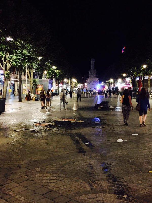 JEUDI 7 ET VENDREDI 8 JUILLET 2016 - VIOLENTS INCIDENTS A REIMS DES POMPIERS REMOIS CALLAISSES