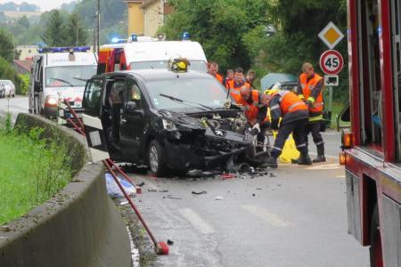 MARDI 2 AOÛT 2016 - DEUX ACCIDENTS SUR LE SECTEUR DE SAINTE-MENEHOULD