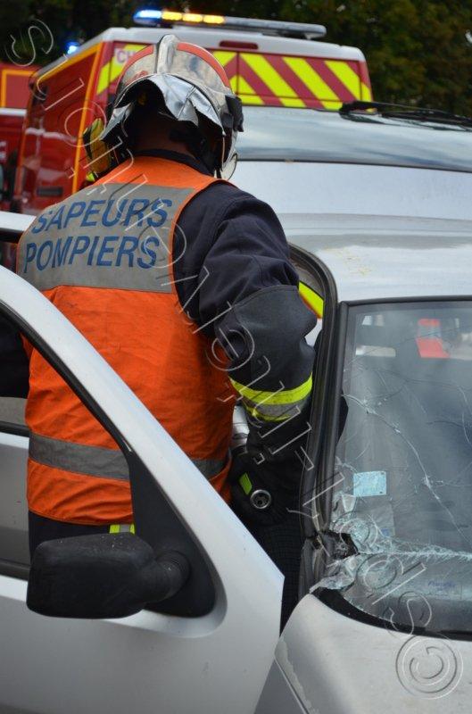 SAMEDI 27 AOÛT 2016 - DEUX ACCIDENTS DONT UN GRAVE DANS LA MARNE