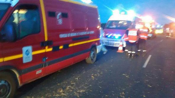 SAMEDI 3 SEPTEMBRE 2016 - UNE TERRIBLE COLLISION A ST-REMY-SOUS-BROYES