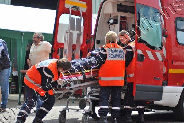 MERCREDI 7 SEPTEMBRE 2016 - UN ACCIDENT SUR LA RN4 A ST-REMY-SOUS-BROYES