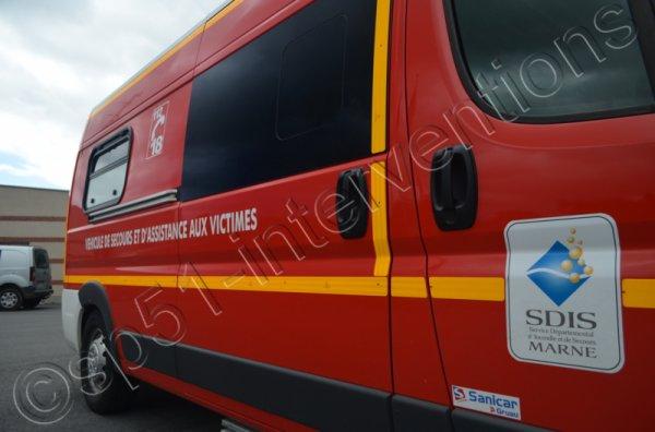 MARDI 13 SEPTEMBRE 2016 - DEUX ACCIDENTS SUR LE SECTEUR DE REIMS