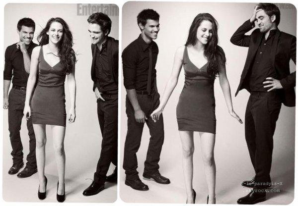 Robert & Kristen & Taylor dans le magazine EW