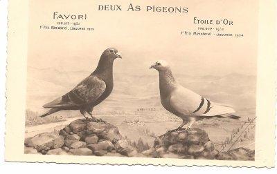 LIBOURNE 1933 & 1934 : photo de DELBARRE à Lille  concours / Libourne