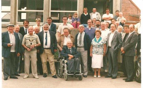 Boeschepe 1990 - tiercé aux pigeons - au profit handicapés, orphelins, non voyante