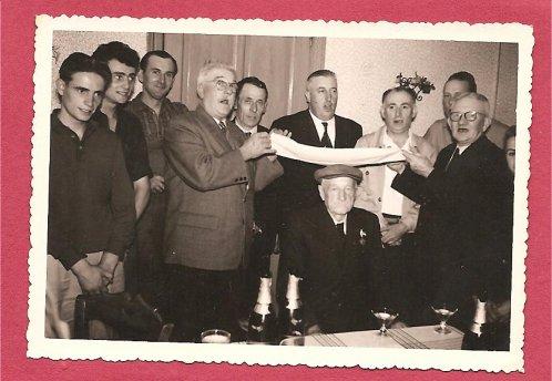 1960.... 30 ans aprés sa victoire sur ALGER du 14 juillet 1930 Bertin ROUSSEL vieux berquin