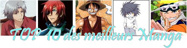 » Mon TOP 10 des meilleures Manga