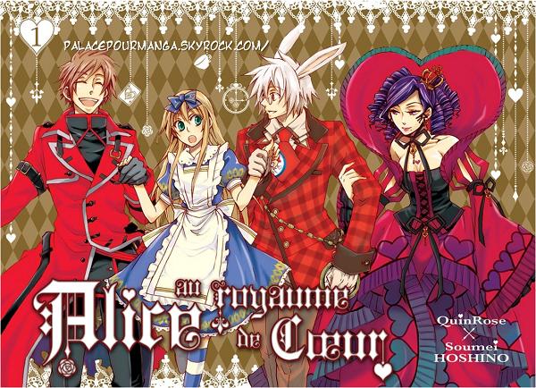» Article Exclu : Alice aux Pays des merveilles version Manga Alice au royaume de Coeur