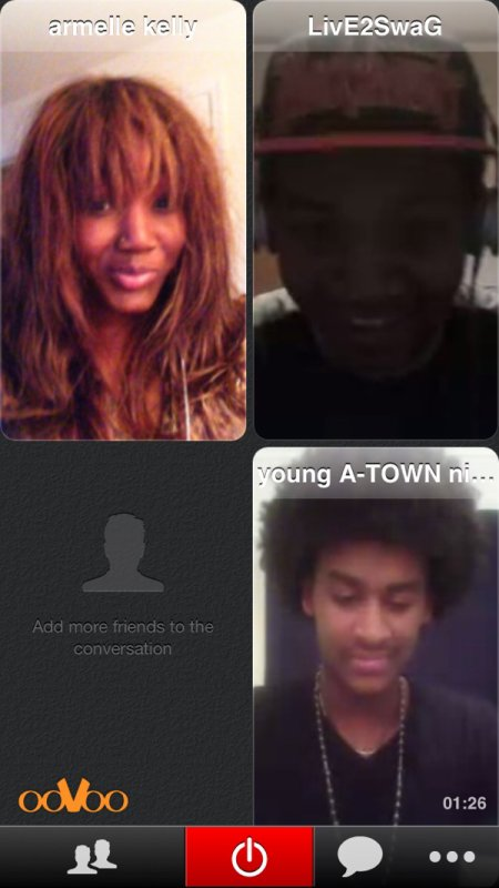 OoVoo chatin with friends