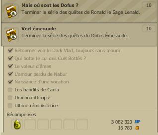 Dofus émeraude / Multiman  / concours