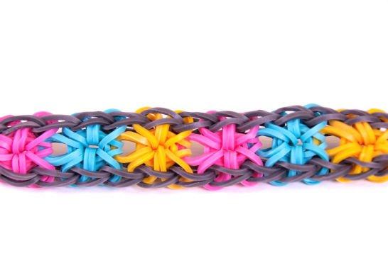 boutique pour officiel nouveau style de 2019 le plus populaire Rainbow loom: Bracelet fleur avec machine - Blog de ...