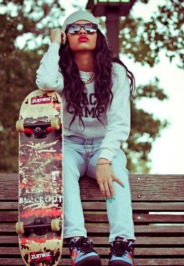 SWAGG skater girl