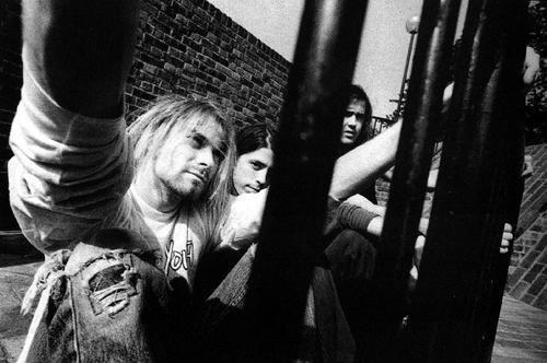 Même le nom du groupe est stylé : Nirvana.