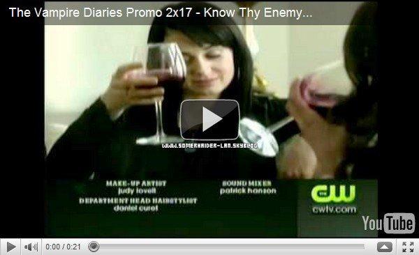 .     Découvre le trailer de l'épisode 17 < Know Thy Enemy > diffusé le 7 avril  .  Ajoutes-moi à tes amis ♥ - ajoute-moi dans tes favoris ♥ - Newsletter ♥  .