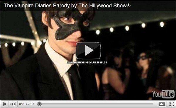 .     Le site < The Hillywood Show > a sortie la parodie de Vampire Diaries. .  Ajoutes-moi à tes amis ♥ - ajoute-moi dans tes favoris ♥ - Newsletter ♥  .