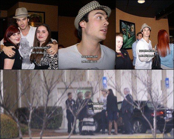 .  19/03 : Ian & Nina étaient à l'avant première de Last Lion. . Ajoutes-moi à tes amis ♥ - ajoute-moi dans tes favoris ♥ - Newsletter ♥ .