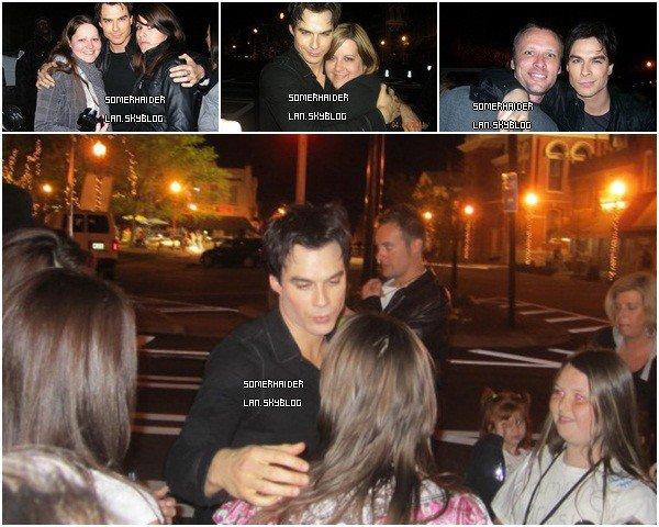 . 7 avril : Ian pose en photo avec des fans à Altlanta ( Georgie) . . Ajoutes-moi à tes amis ♥ - ajoute-moi dans tes favoris ♥ - Newsletter ♥ .
