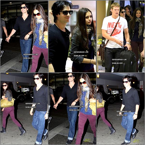 Ian et ses Co-Stars de TVD étaient à l'aéroport de Lax ( Los Angeles) + 2 nouvelles photo promo.          Ajoutes-moi à tes amis ♥ - ajoute-moi dans tes favoris ♥ - Newsletter ♥