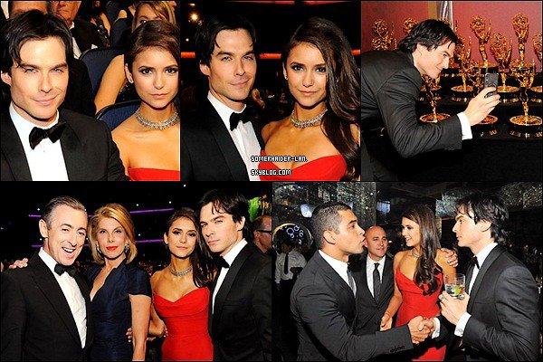 18/09/2011 : Ian était présent au Emmy Award, en compagnie de Nina Dobrev.          Ajoutes-moi à tes amis ♥ - ajoute-moi dans tes favoris ♥ - Newsletter ♥