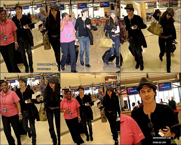 Ian et nina ont était aperçu à l'aeroport d'Atlanta et ensuite à New-York.   Ajoutes-moi à tes amis ♥ - ajoute-moi dans tes favoris ♥ - Newsletter ♥