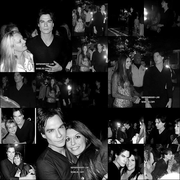 """Découvre des photos de Ian et ses fans sur le tournage de l'épisode 3x10 ' New Deal """" de TVD     Ajoutes-moi à tes amis ♥ - ajoute-moi dans tes favoris ♥ - Newsletter ♥"""